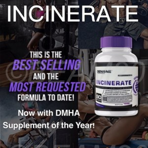 INCINERATE Oxy Lean Fat Burner-Diet Pill RAPID Weight Loss ENERGY Booster 90 ct