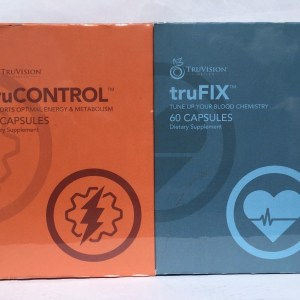 NEW! TRUVISION-30 Day DIET-TRUFIX TRUCONTROL (120 Caps.) LOSE WEIGHT with ENERGY