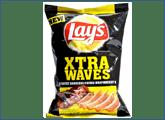 Πατατάκια Xtra Wave με γεύση μπάρμπεκιου Lay's