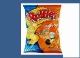 Πατατάκια με γεύση μπάρμπεκιου Ruffles