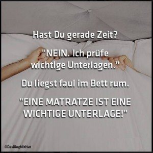 Matratzentest