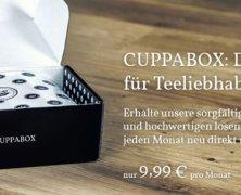 Gewinnspiel! Gewinne eine komplette Cuppabox mit Tee