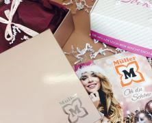 Nur heute – Gewinne 5.000x die Müller Look Box – Christmas Edition!