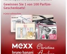 Gewinne 1 von 100 Parfum-Sets bei Rossmann