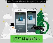 Gewinne ein iPhone 6s oder Galaxy S6