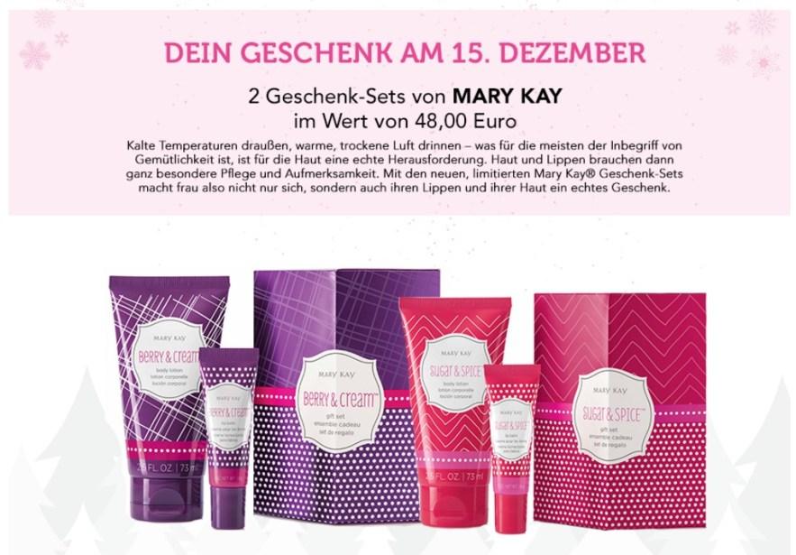 Mary Kay Pinkbox Gewinnspiel