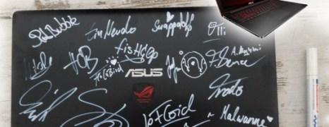 Gewinne bei ASUS das Notebook 1.400€ ROG G501JW – mit Unterschriften u.a. von LeFloid