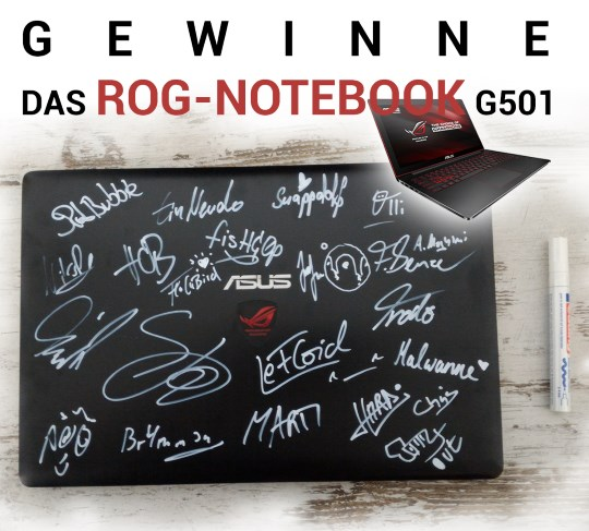 notebook gewinnen lefloid