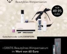Luxury Box + Beautylines Wimpernserum im Wert von 60 € GRATIS!