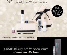 Luxury Box + Beautylines Wimpernserum im Wert von 60 € GRATIS!