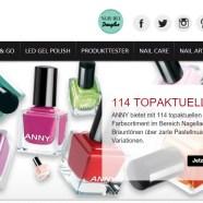 ANNY Cosmetic Nagellack Gewinnspiel – wähle aus 114 Nagellacken!