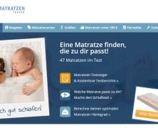 Matratzentester.com – Endlich gut schlafen!
