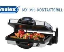 Test & Gewinnspiel – Der Mulex MX 355 Kontaktgrill