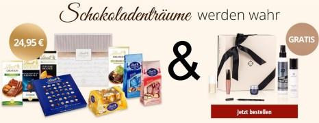 Gratis LuxuryBox für Mitglieder im Lindt Chocoladen Club!