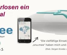 Test & Gewinnspiel – snu:mee von babystarsrock2sleep – 3 in 1: Babyphone, Spieluhr & MP3-Player