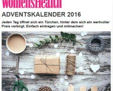 Online Adventskalender von Men´s Health – Woman´s Health – Runner´s World