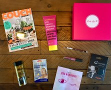 "Die ""Look Wonderful"" Pink Box"