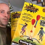 Gewinnspiel – Stomp Rocket – Dueling Rockets – fliegt bis 60m hoch!