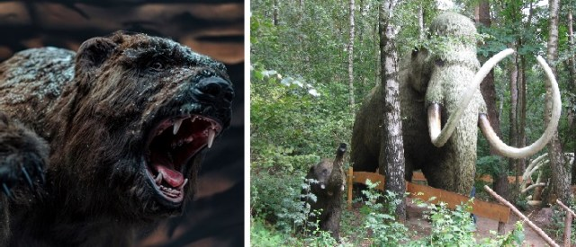 Dinosaurierpark Münchehagen Giganten der Eiszeit