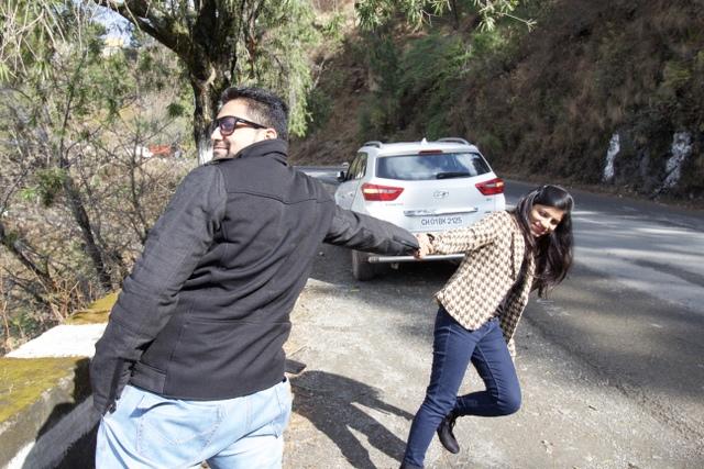 Kasauli to Shimla drive