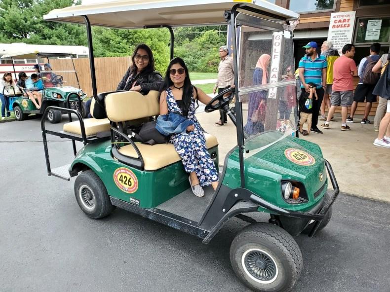 Golf Cart in Put-In-Bay