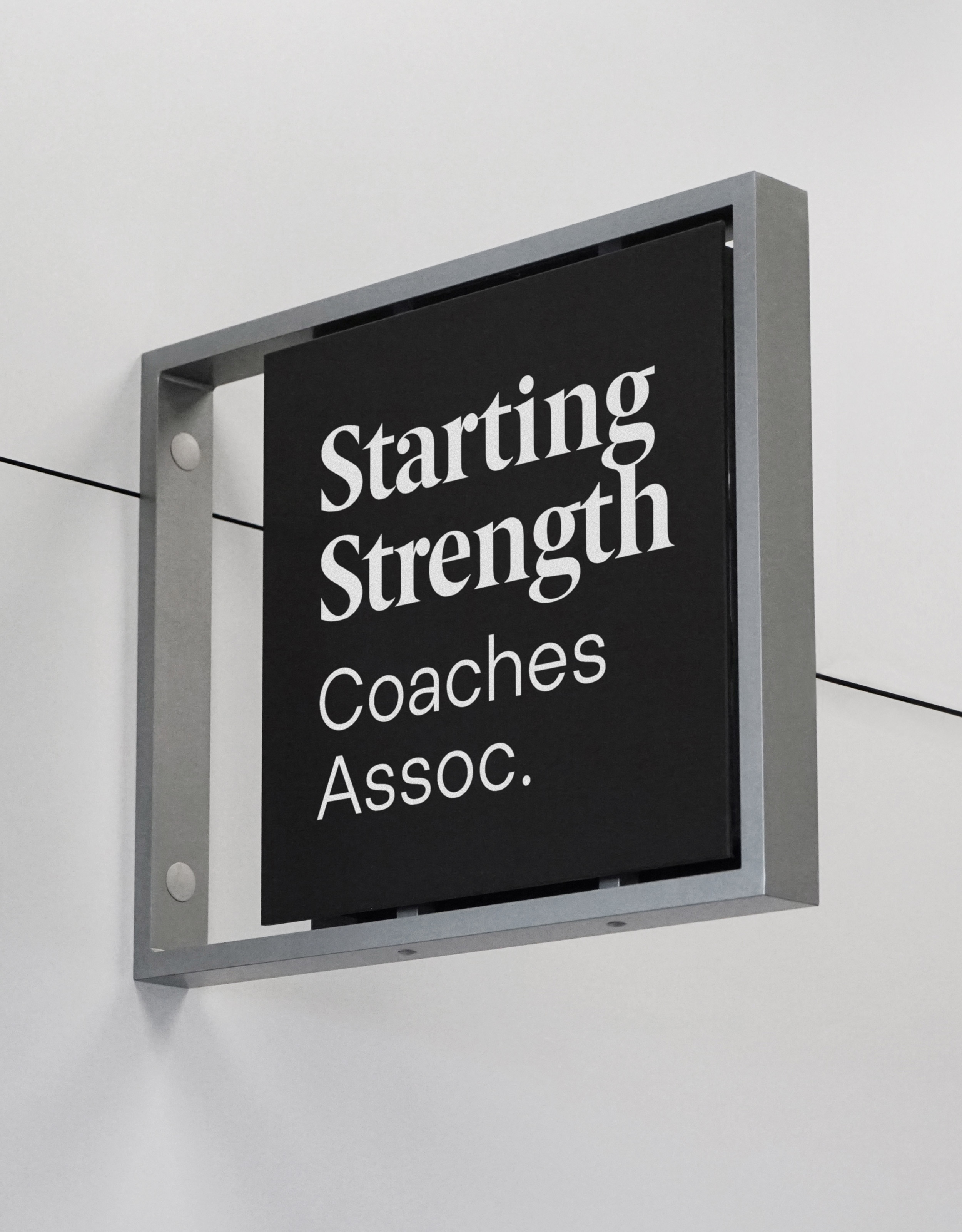 Diferente_StartingStrength_Signage