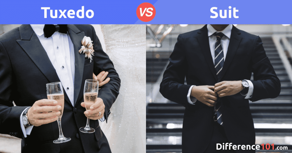 Tuxedo vs. Suit: Tuxedo vs. Suit: What's the difference between tux and suit?