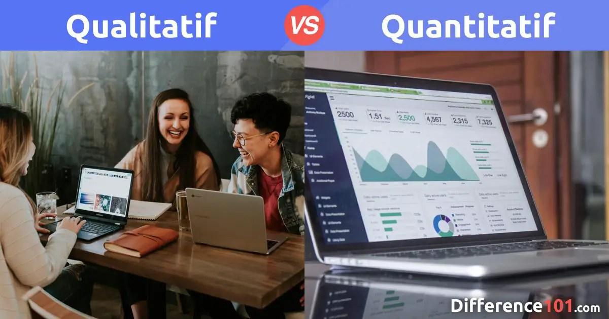 Qualitatif et Quantitatif : Quelle est la Différence Entre Qualitatif et Quantitatif ?