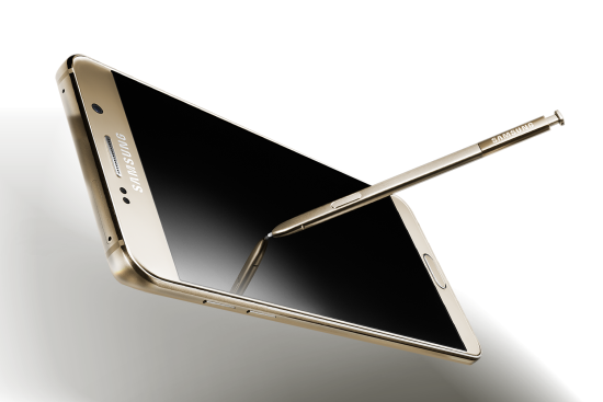 difference between Galaxy Note 5 and Galaxy S6 Edge
