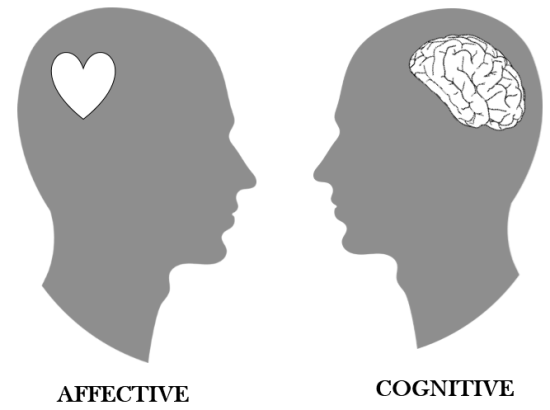 Difference Between Affective and Cognitive