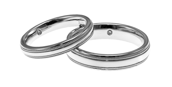 Key Difference Between Sterling Silver and White Gold