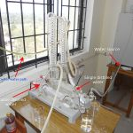 Difference Between Distillation and Condensation