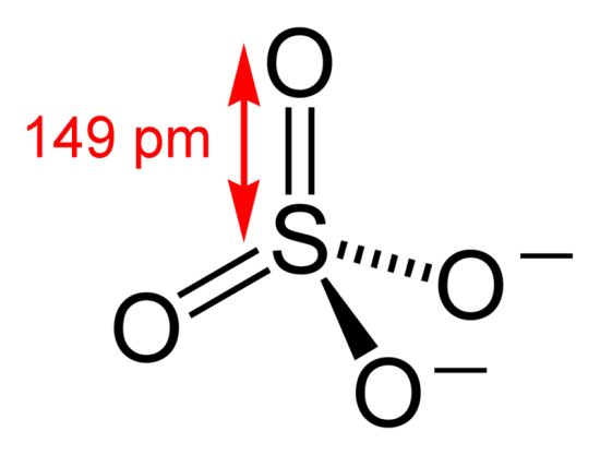 Difference Between Sulfonate and Sulfate