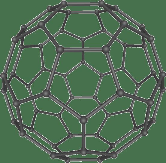 Key Difference - Diamond Graphite vs Fullerene