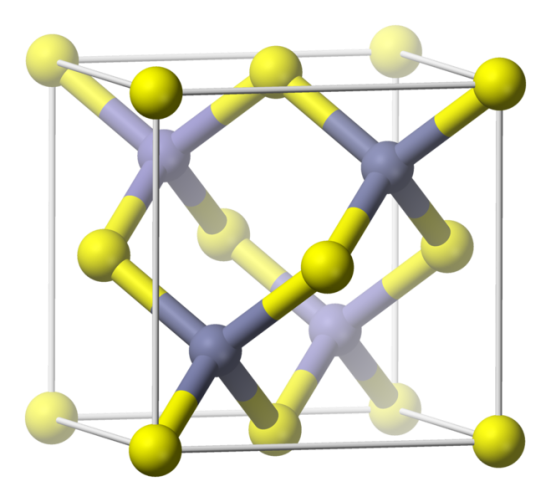 Difference Between Zinc Blende and Diamond Structure
