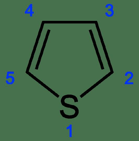 COmparison of Pyrrole vs Furan vs Thiophene