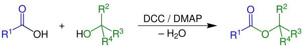 Key Difference - Fischer Esterification vs Steglich Esterification