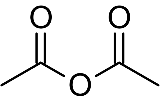 Glacial Acetic Acid vs Acetic Anhydride in Tabular Form