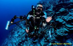 Aldo Ferrucci en pleine plongée