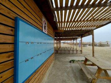 Centre de plongée d'Abu Dabbab vide