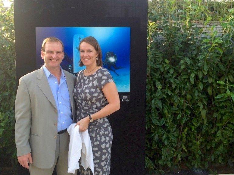 Martin Parker et sa femme Nicky