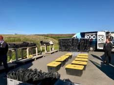 Le parking du rendez-vous pour plonger en Islande dans la faille de Silfra en Islande