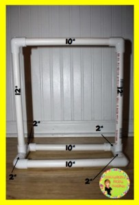 Make your own tabletop anchor chart stand. Follow this detailed DIY to make a Mini Anchor Chart Stand out of PVC pipe.