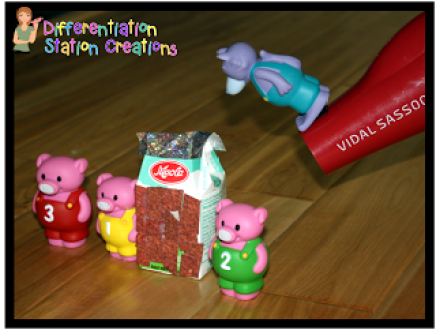 Three Little Pigs STEM