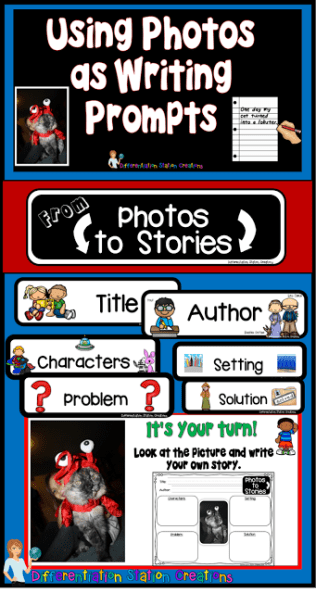 use photos as writing prompts