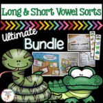 long vowels short vowels sorts bundle