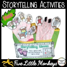 free storytelling gloves