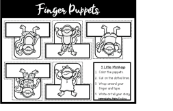 Free storytelling gloves, finger puppets, and magnetic storyboard resources