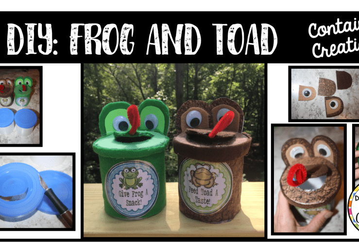 DIY: Frog and Toad Miniatures