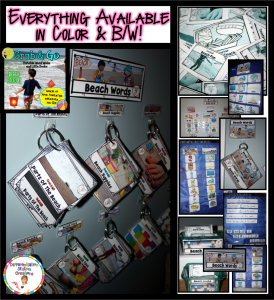 Use portable word walls in a variety of ways. Sort, categorize, and build vocabulary in a specific theme.